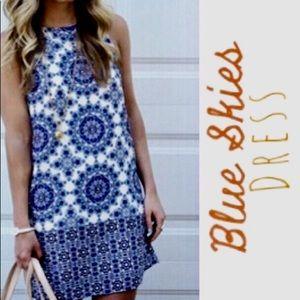 Dresses & Skirts - Blue Skies Sheath Dress Large